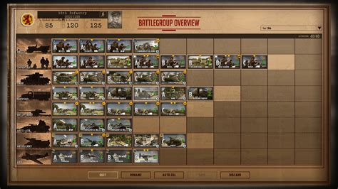 Steel Division Deck Builder