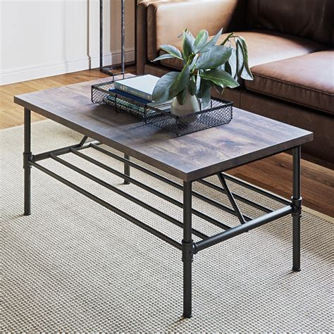 Steel Frame Coffee Table Diy Pottery