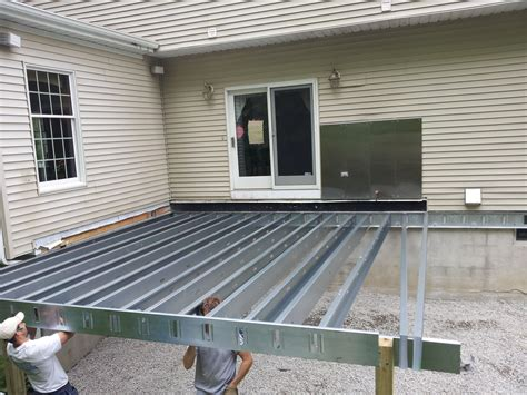 Steel Frame Deck Design