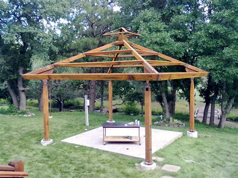 Steel Frame Gazebo Plans