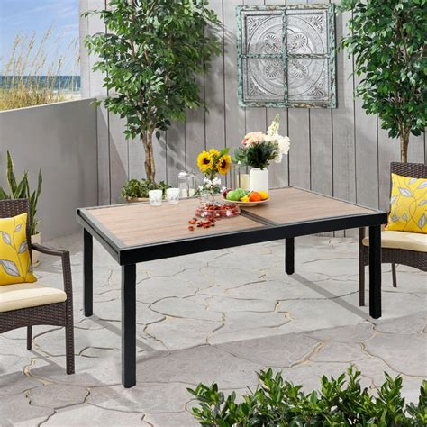 Steel Patio Table Plans