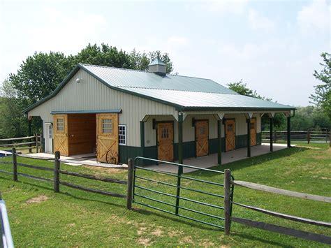 Steel-Horse-Barn-Plans