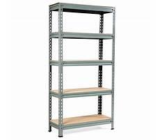 Best Steel shelves for the garage