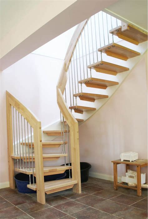 Steep Stairway Plans For Tight Spaces