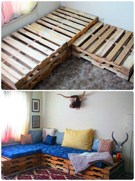 Step By Step Diy Pallet Bedroom