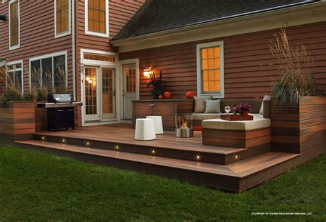 Step Down Deck Plans