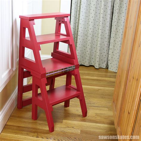 Step Ladder Chair Plans