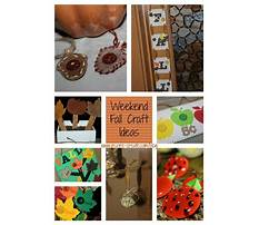 Best Step by step crafts for fall
