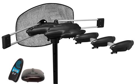 Steren HDTV Aerial Antenna with Rotor, Booster and Remote Control