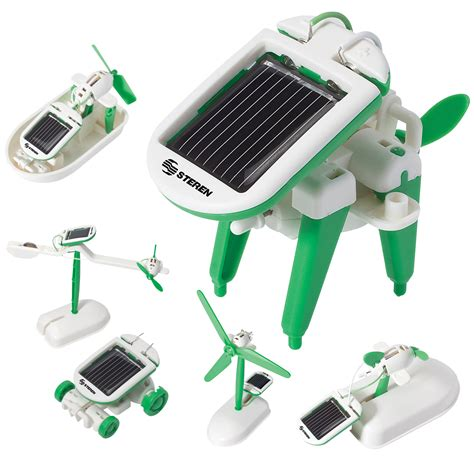 Steren Solar Power Deluxe Educational Assembly Kit with Accessories