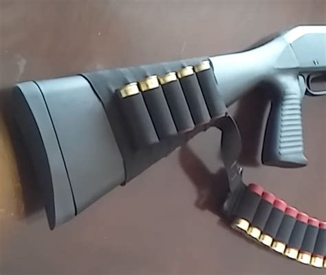 Stevens Model 320 Shotgun Accessories And Topper M48 12 Gauge Shotgun