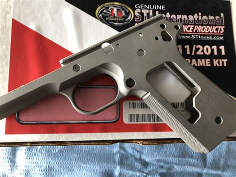 Sti 1911 Frame And Slide Kit And Slim Grip Full Size 1911 Ambidexerious Safety