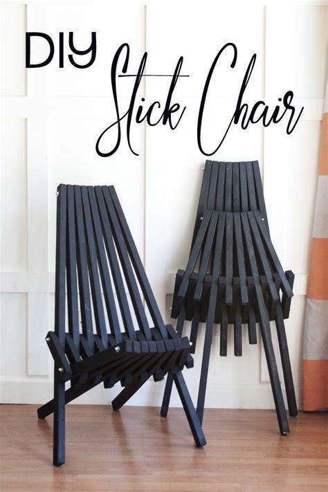 Stick-Chair-Diy