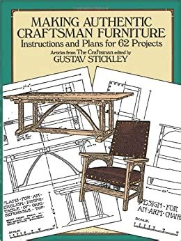 Stickley Furniture Plan Books