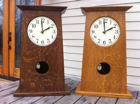 Stickley Mantle Clock Plans