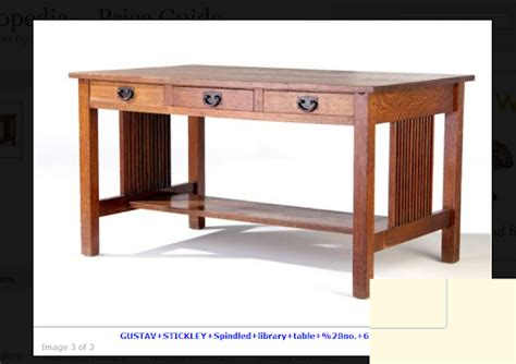 Stickley-Library-Table-Plans