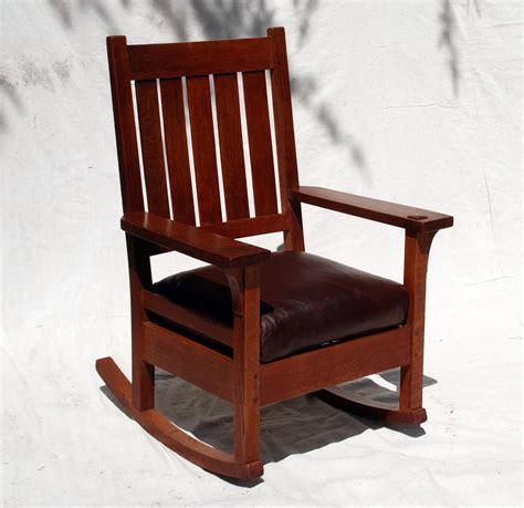 Stickley-Rocking-Chair-Plans