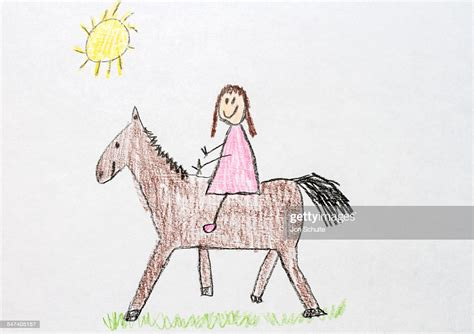Stock Horse Drawing For Kids