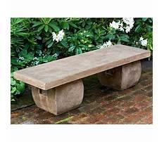 Best Stone garden benches perth waca