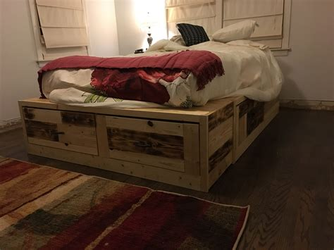 Storage Bed Diy Ana White Chair