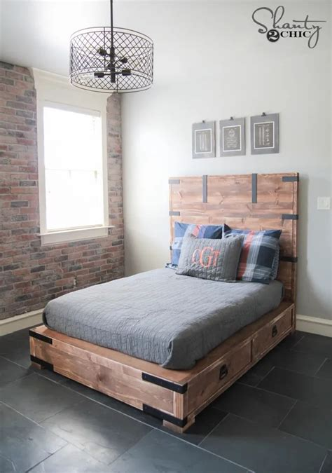 Storage Bed Queen Diy