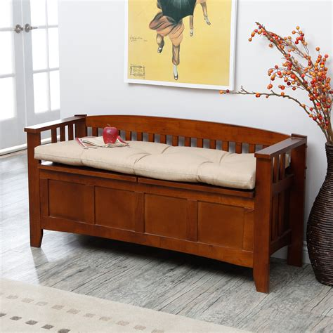 Storage Bench With Cushion Designers