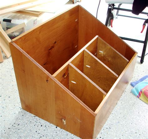 Storage Bin Plans Wood