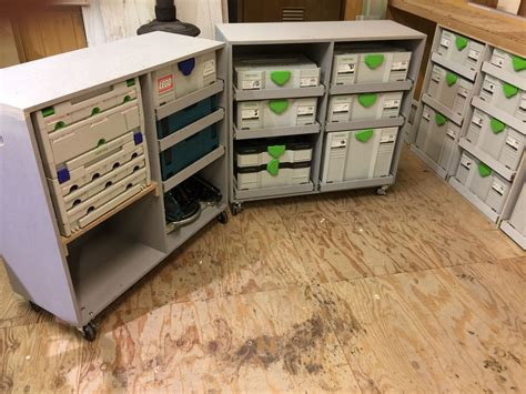 Storage Cabinet Plans For Festool Systainers