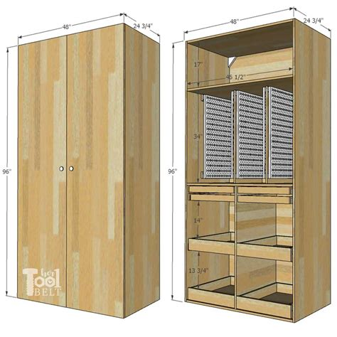 Storage Cabinet Plans Youtube