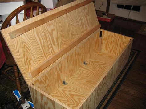 Storage Chest Seating Diy