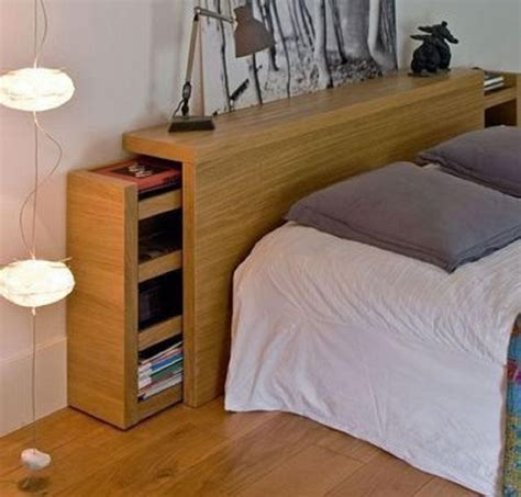 Storage Headboard Plan Diy