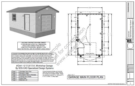 Storage Shed Building Plans 10 X 14