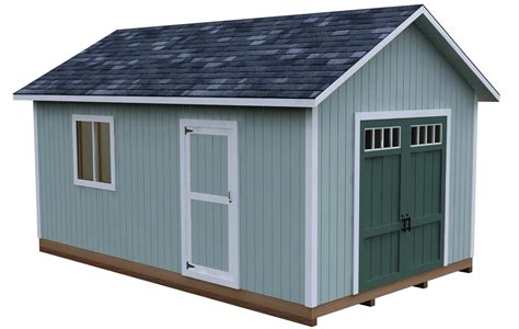Storage Shed Plans 12x20