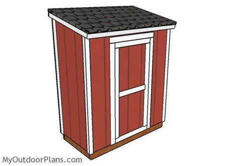 Storage Shed Plans 3x6