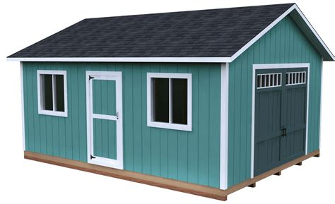 Storage Shed With Loft Plans 16x20 Frame