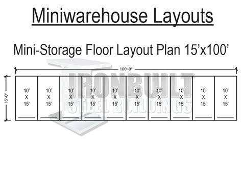 Storage Unit Plans And Prices