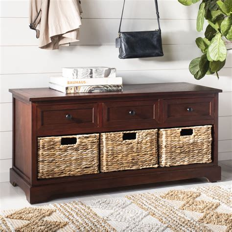 Storage-Bench-With-Baskets-Plans