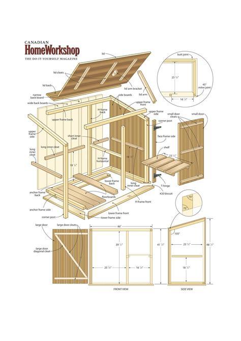 Storage-Bin-Plans