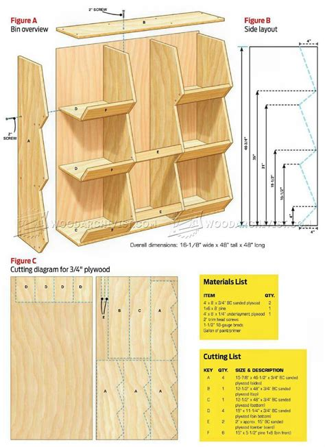 Storage-Bin-Shelf-Plans