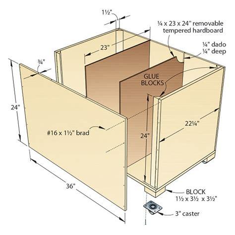 Storage-Bin-Woodworking-Plans