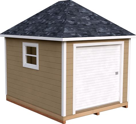 Storage-Shed-Plans-Hip-Roof