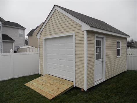 Storage-Shed-Plans-With-Garage-Door