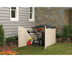 Best Storage shed for riding lawn mower.aspx