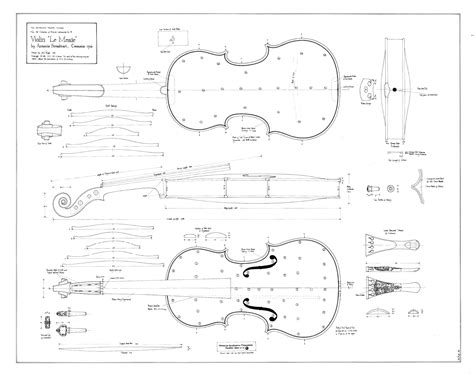 Stradivarius-Violin-Plans