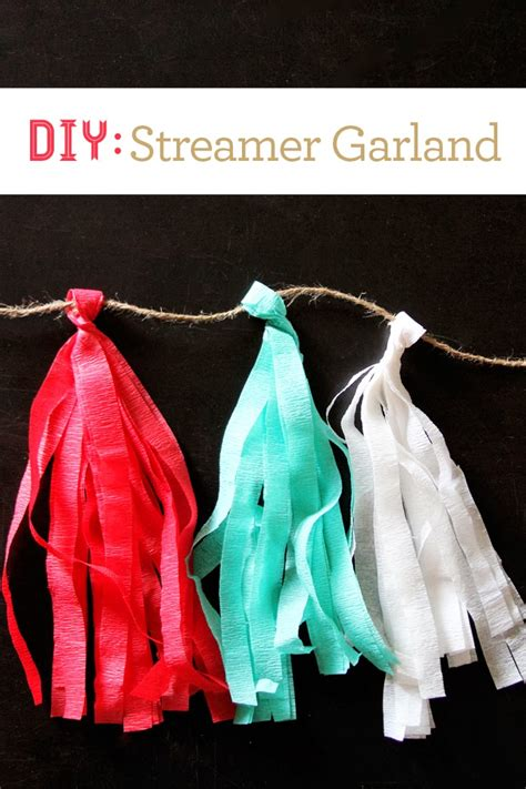Streamer-Garland-Diy