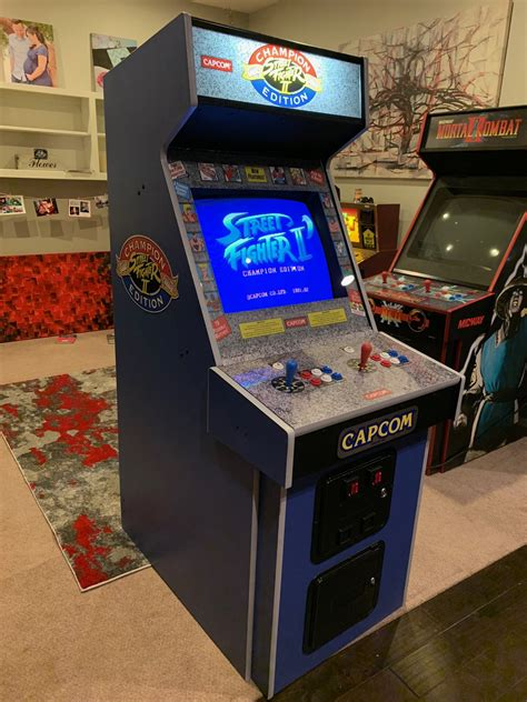Street Fighter 2 Cabinet Plans