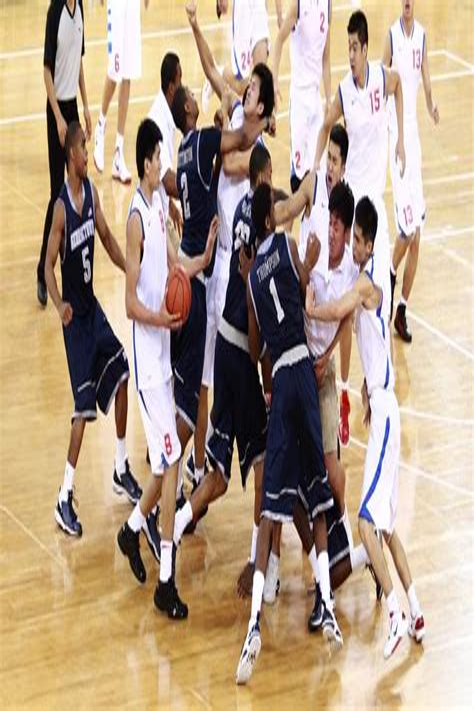 Street Basketball Fight And Jack Reacher Street Fight