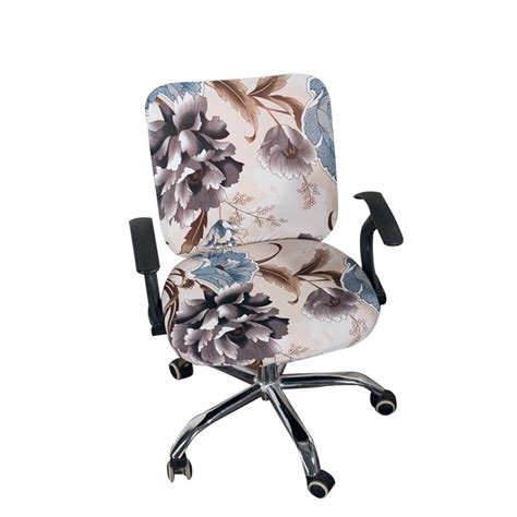 Stretch-Office-Chair-Slipcover-Diy