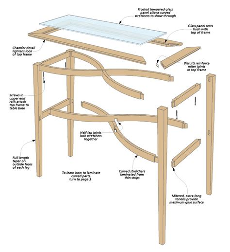 Stretcher Table Plans