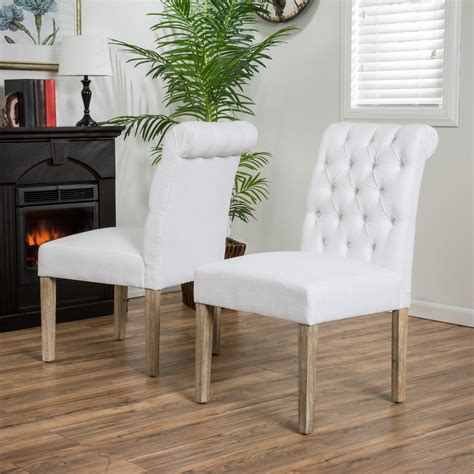 Striped Dining Room Chair Cushions
